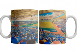 Rugby park on matchday mug